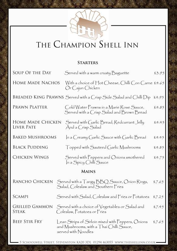 shell menu page 1 j